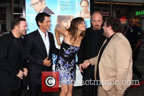 Ricky Gervais, Jennifer Garner and Rob Lowe 8