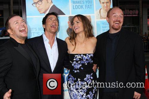 Ricky Gervais, Jennifer Garner and Rob Lowe 3