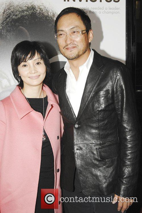 Ken Watanabe and wife Yumiko The Los Angeles...