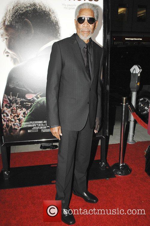 Morgan Freeman The Los Angeles premiere of 'Invictus'...