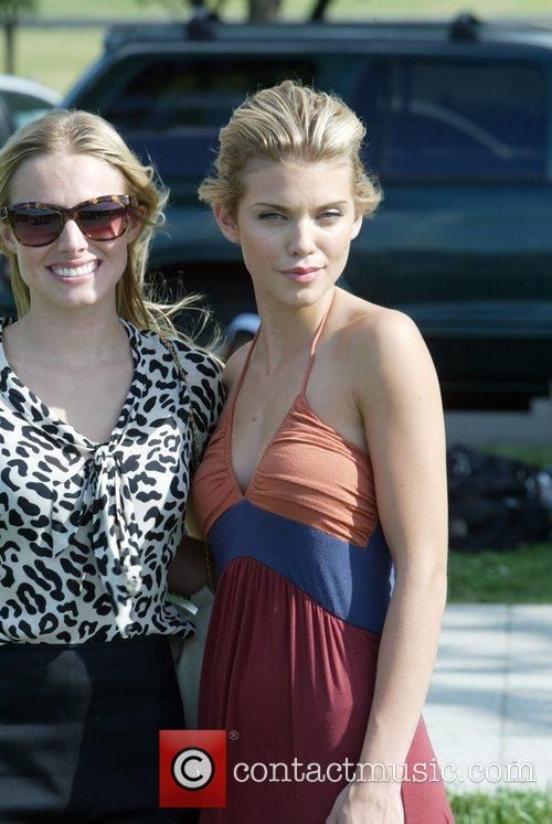 Kristen Bell and Annalynne Mccord 4