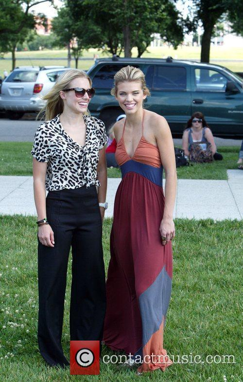 Kristen Bell and Annalynne Mccord 6