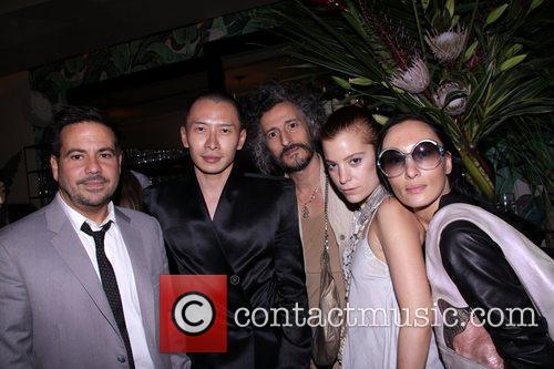 Narciso Rodriguez, Terence Koh, Threeasfour's Gabi, Ang and Adi