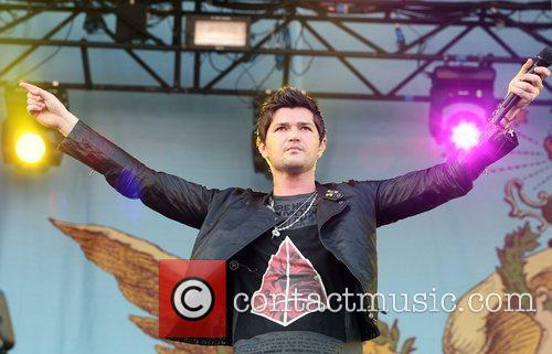 Danny O'Donoghue of The Script performing Isle of...