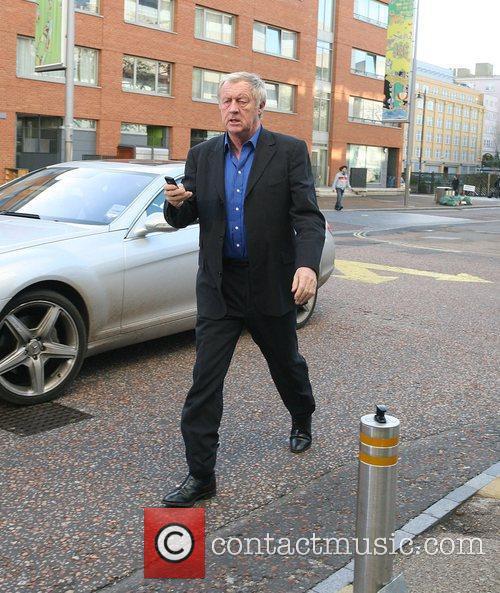 Chris Tarrant outside the ITV studios London, England