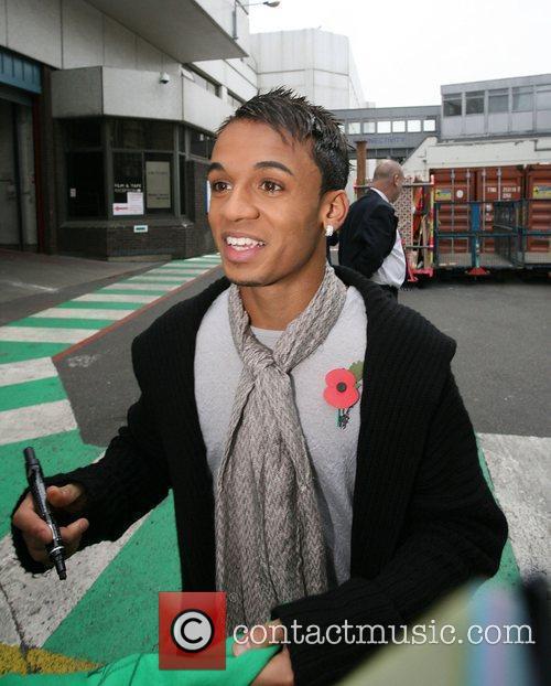 JLS outside the ITV studios