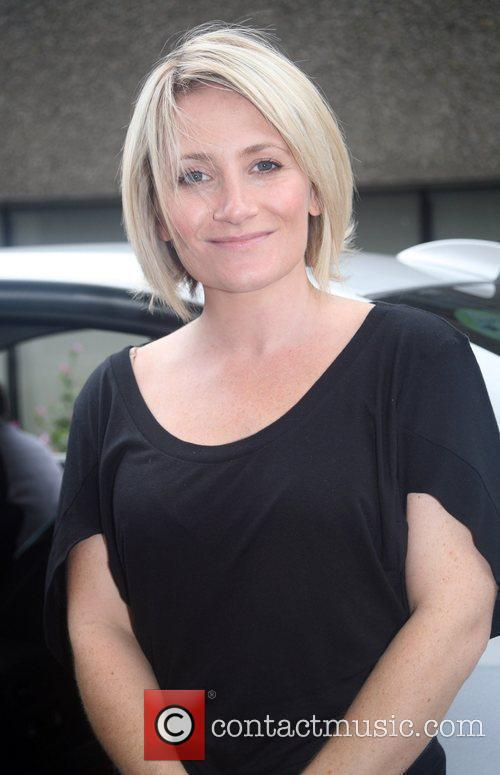 Lucy Speed at the ITV studios