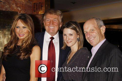 Melania Knauss-trump, Donald Trump and Ivanka Trump 4