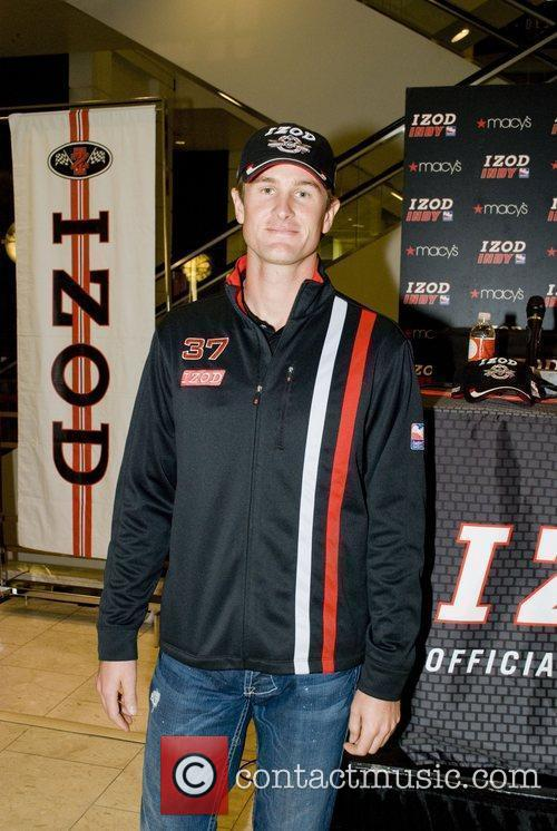 Attends a Signing and Promotional event for IZOD/Indy...