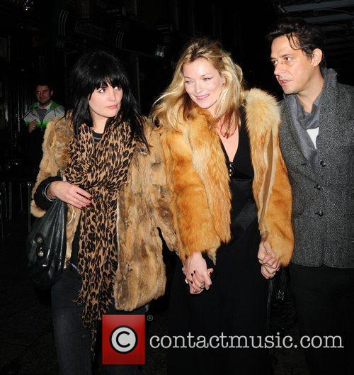Kate Moss and Jamie Hince Leaving J Sheekey Restaurant With A Friend 4