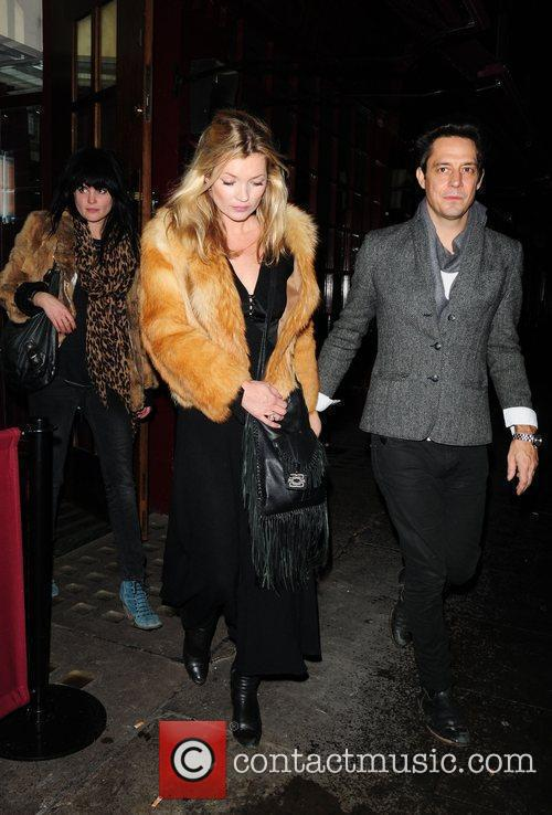 Kate Moss and Jamie Hince Leaving J Sheekey Restaurant 1