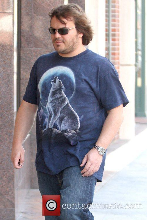 Outside a medical centre while wearing a wolf...
