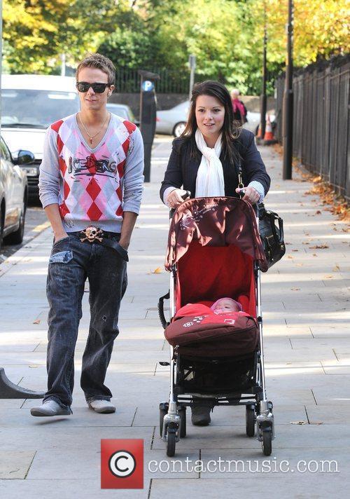 Jack P. Shepherd and his girlfriend Lauren Shipley...