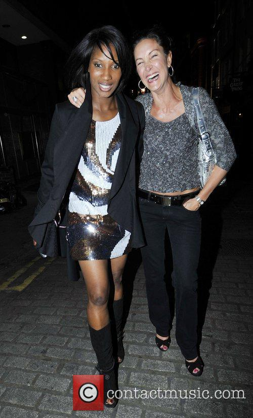 Denise Lewis and Guest 1