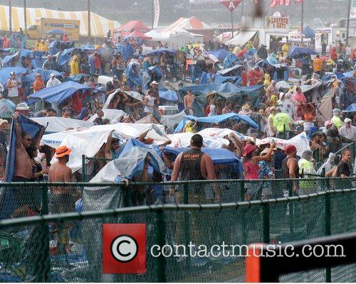 The Jamboree in the Hills outdoor music festival...