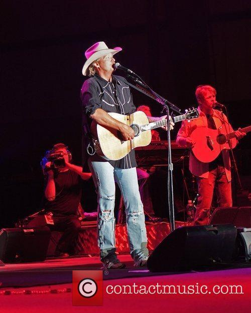 Country Music entertainer Alan Jackson, The Jamboree in...
