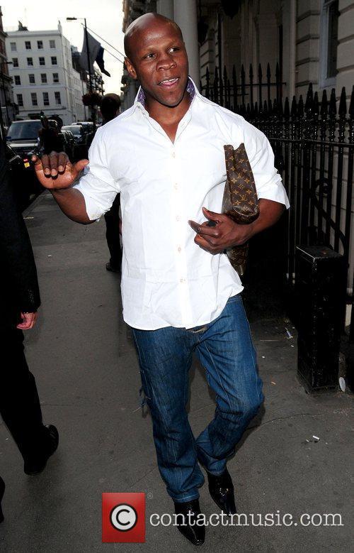 Chris Eubank, James Brown