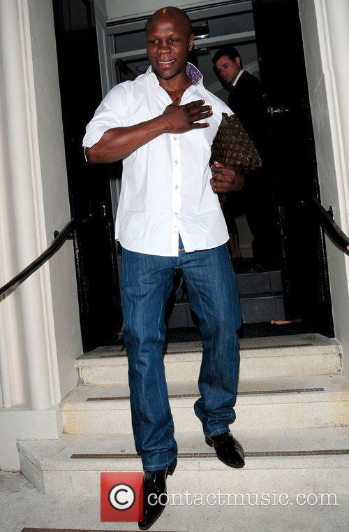 Chris Eubank and James Brown 2