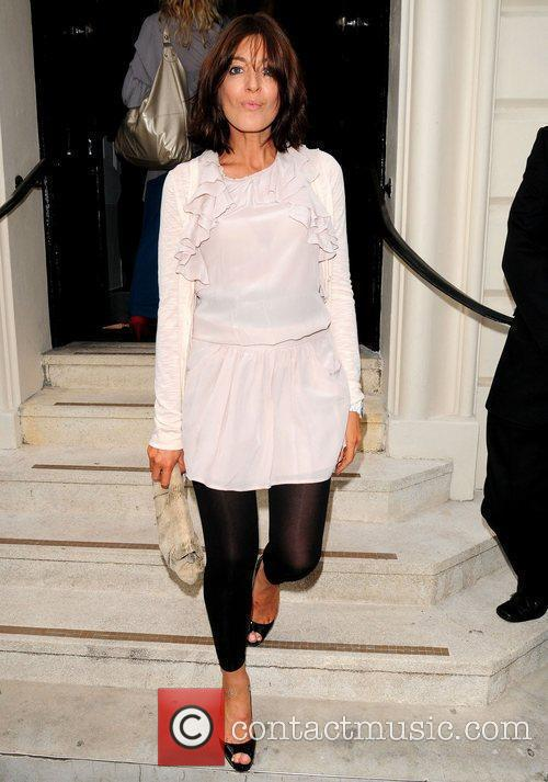 Claudia Winkleman attends the opening of the James...