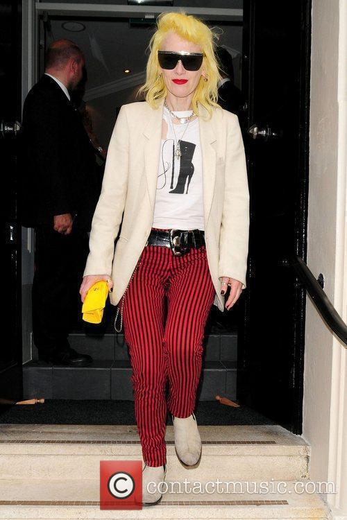 Pam Hogg attends the opening of the James...