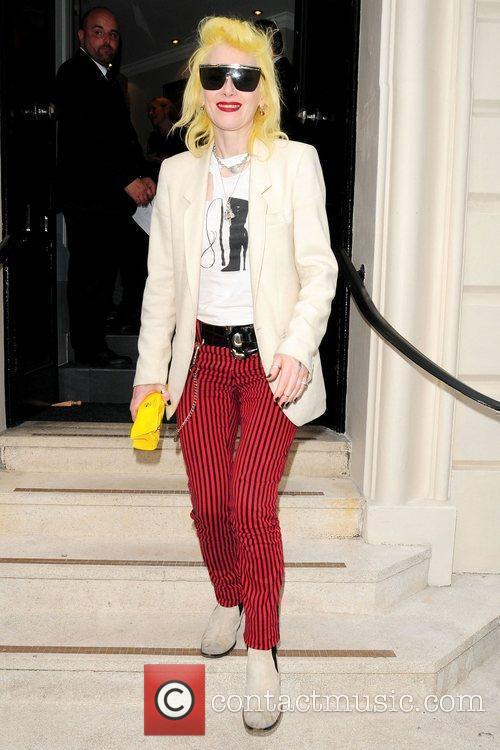 Attends the opening of the James Brown London...