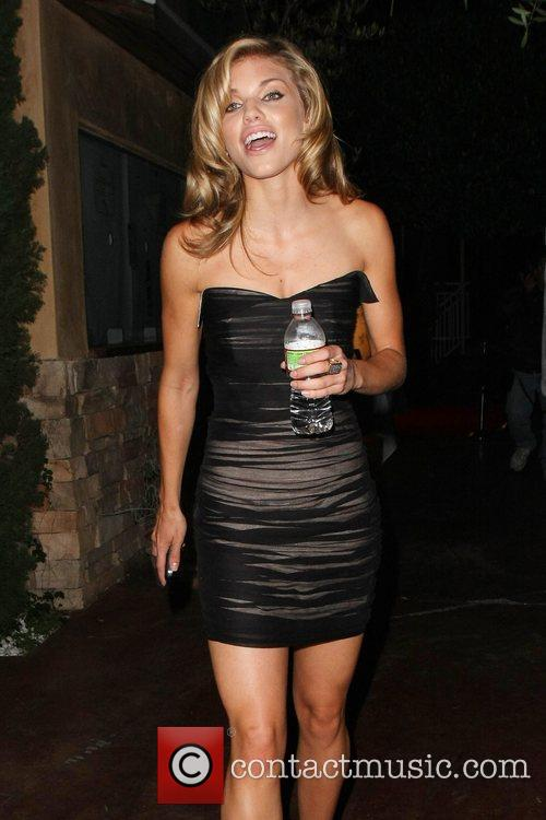 AnnaLynne McCord Celebrities attend a charity event held...