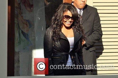 Janet Jackson  makes an appearance at The...