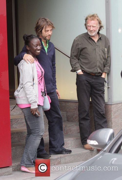 Jay Kay leaving Nobu restaurant London, England