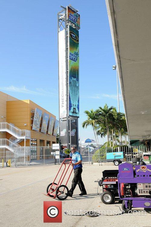 The Homestead-Miami Speedway