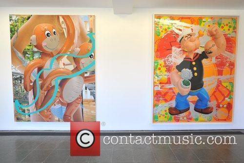 Monkeys (2003) and Popeye Train (2008) Jeff Koons:...