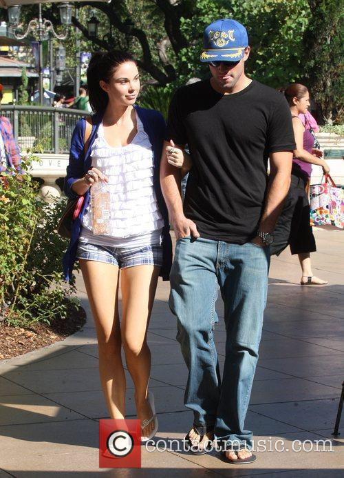 Brody Jenner and Jayde Nicole Go Shopping At The Aple Store In Hollywood 11