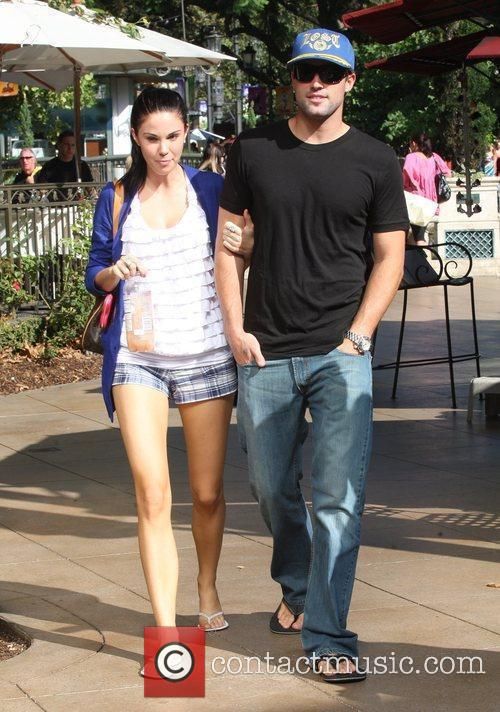 Brody Jenner and Jayde Nicole Go Shopping At The Aple Store In Hollywood 10