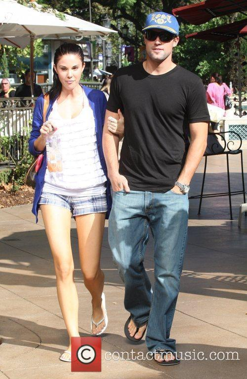 Brody Jenner and Jayde Nicole Go Shopping At The Aple Store In Hollywood 4