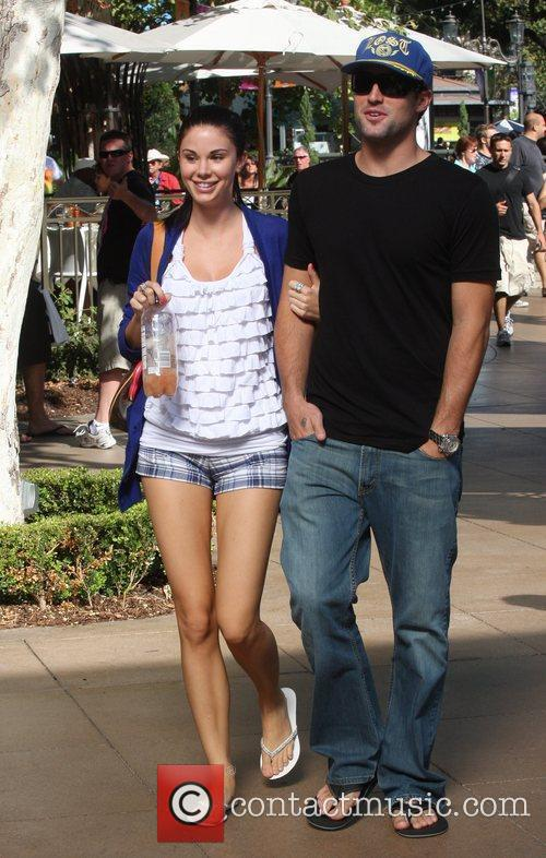 Brody Jenner and Jayde Nicole Go Shopping At The Aple Store In Hollywood 1
