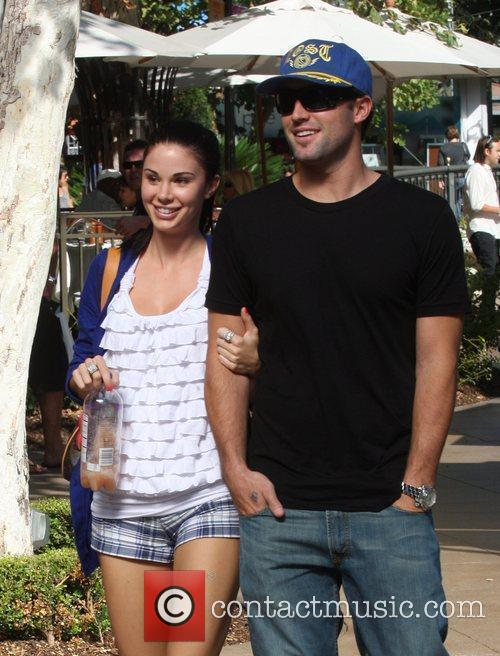 Brody Jenner and Jayde Nicole Go Shopping At The Aple Store In Hollywood 5