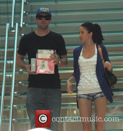 Brody Jenner and Jayde Nicole Go Shopping At The Aple Store In Hollywood 3