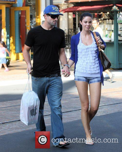 Brody Jenner and Jayde Nicole Go Shopping At The Aple Store In Hollywood 6