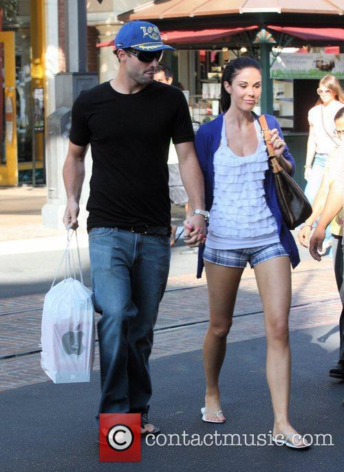 Brody Jenner and Jayde Nicole Go Shopping At The Aple Store In Hollywood 2