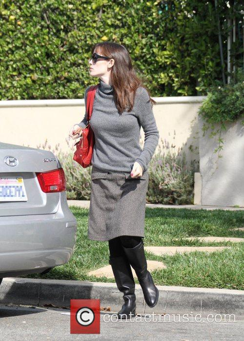 Jennifer Garner Makes her way to the Lucky...