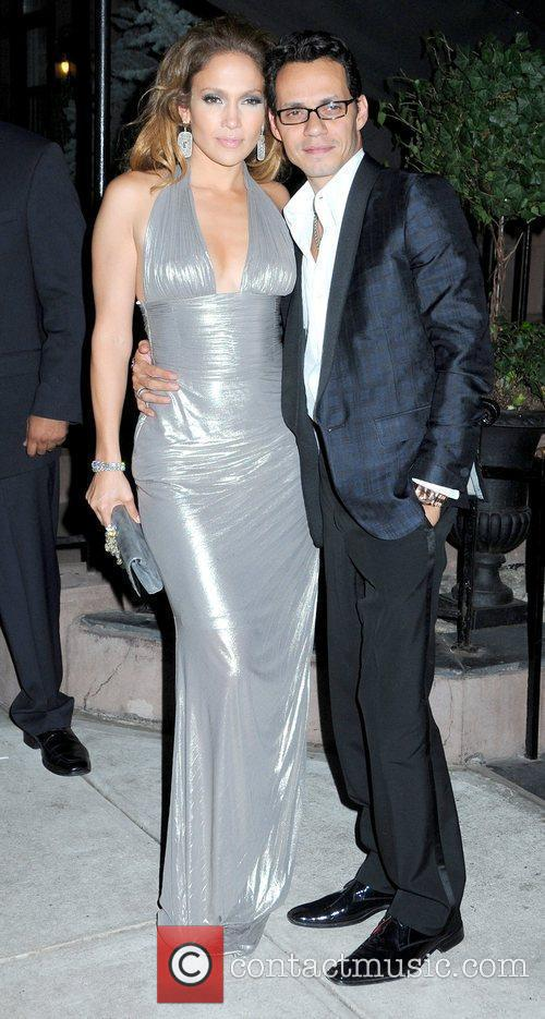 Jennifer Lopez celebrates her 40th birthday with a...