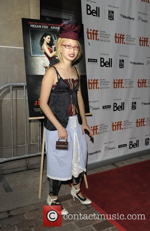 Actress Valerie Tian arriving at the Jennifer's Body...