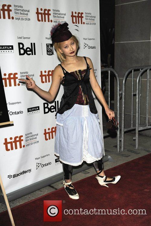 Actress Valerie Tian Arriving 1