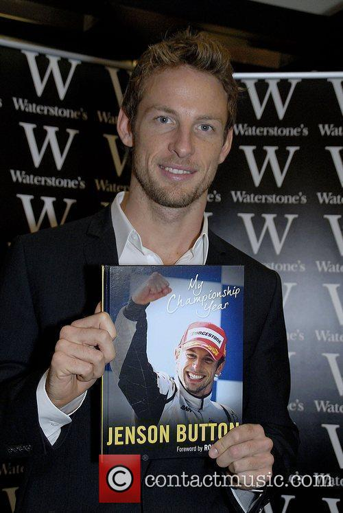 The 2009 Formula One World Champion Driver signing...