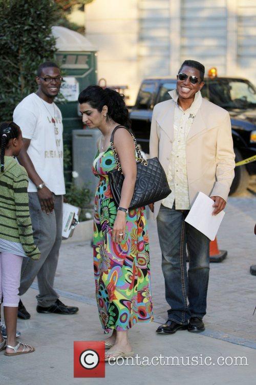Dynast Amir, Jermaine Jackson and Halima Rashid visit...