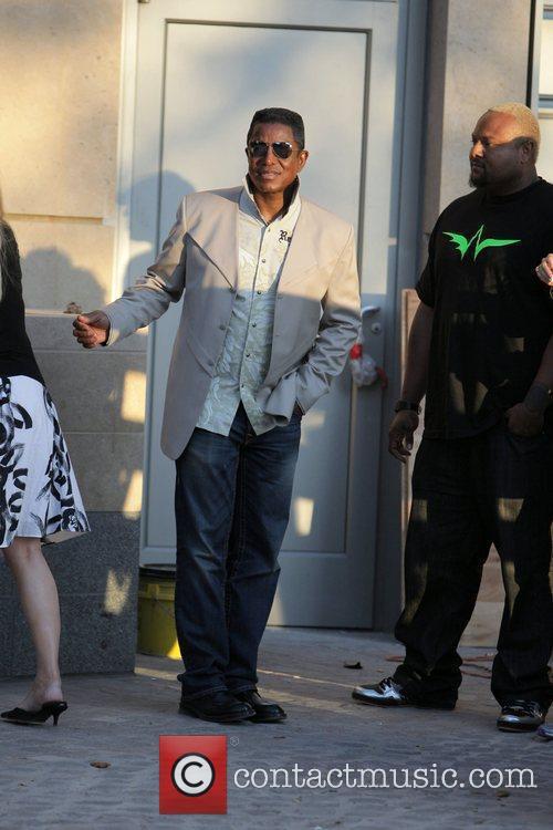 Jermaine Jackson and Damon Elliott visits a luxury...