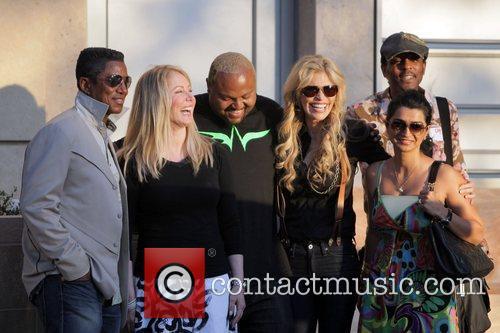 Jermaine Jackson, Damon Elliott, Shawn King and Halima...