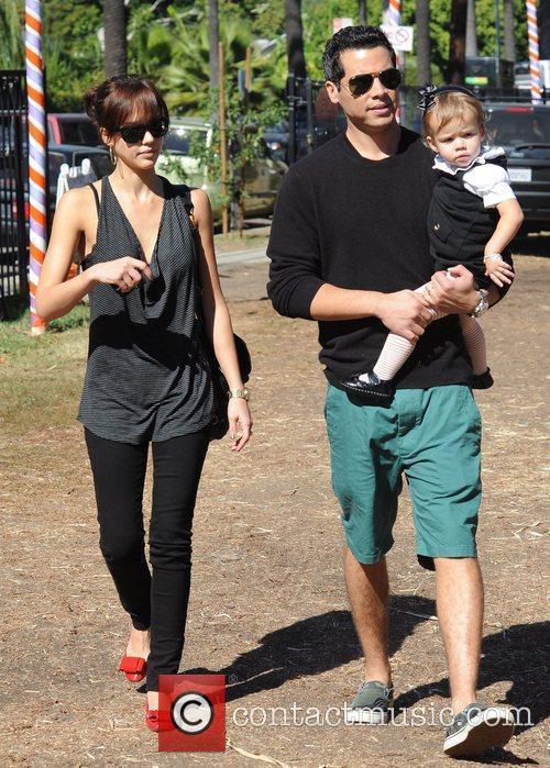 Jessica Alba and and husband Cash Warren take...