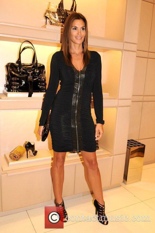 Cindy Crawford Jimmy Choo celebrates Fashion's Night Out...