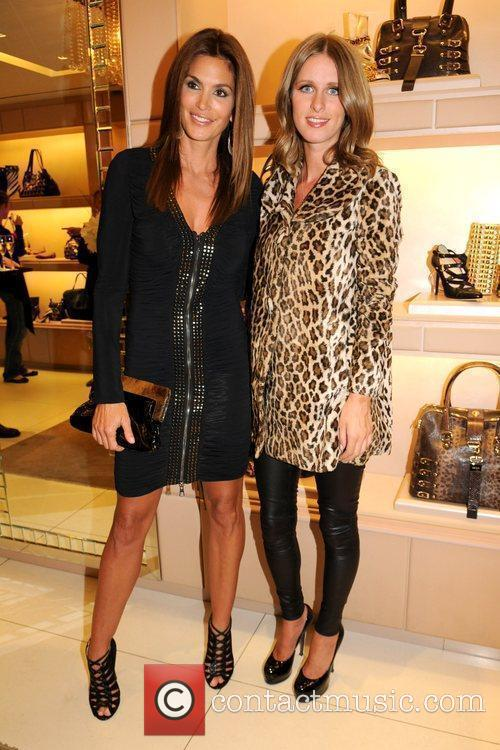 Cindy Crawford and Nicky Hilton 2