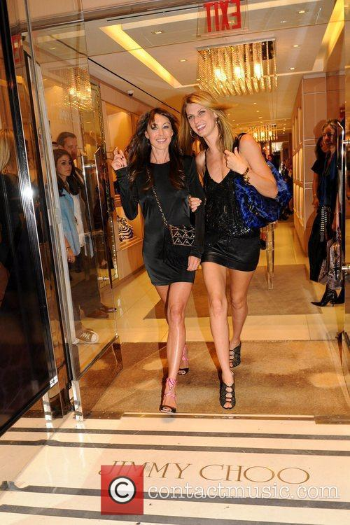 Tamara Mellon and Angela Lindvall 2
